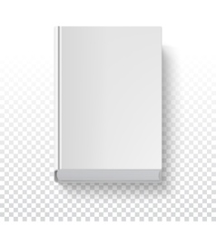 Book template top view vector image