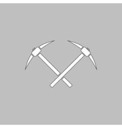icebreaker computer symbol vector image vector image
