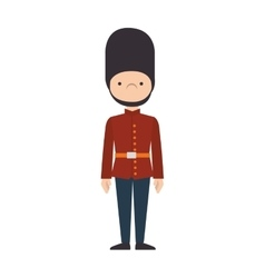 London guard british icon graphic vector