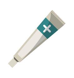 ointment cream tube medicine vector image vector image