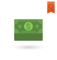 Stack of money vector