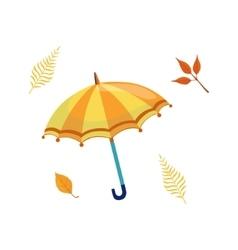 Umbrella as autumn attribute vector