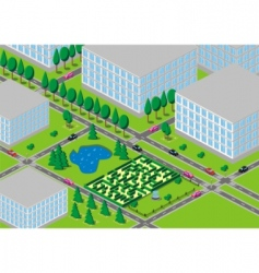 neighbourhood vector image
