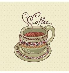 Coffee Cup vector image vector image