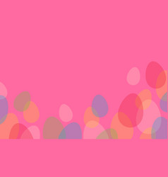 collection of easter greeting card style vector image