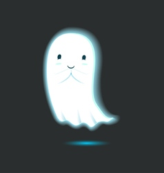 Cute Ghost Single 2 vector image
