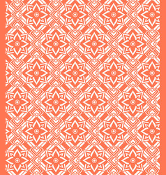 Red white seamless pattern vector