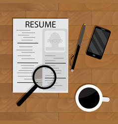 Hiring for job vector