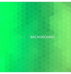 Digital hexagon pixel mosaic background vector