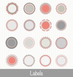 Labels3 vector image