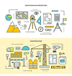 Concept icon set vector image