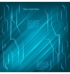 electronics page background blue light bright line vector image