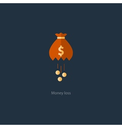 Licking money financial crisis loss budget vector