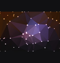 purple brown black geometric background with vector image