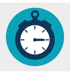 Time clock design vector