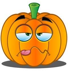 Pumpkin Face 14 vector image