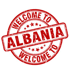 Welcome to albania vector