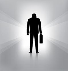 businessman fail vector image