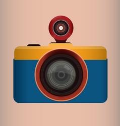 Fish-eye Camera vector image vector image