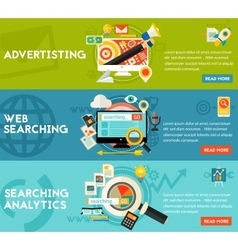 Searching Analytics Advertising Concept vector image