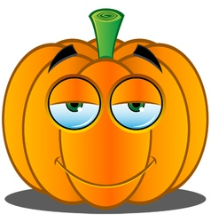 Pumpkin face 15 vector