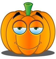 Pumpkin Face 15 vector image