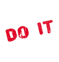 Do it rubber stamp vector