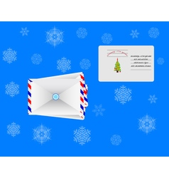 envelopes for letters vector image vector image