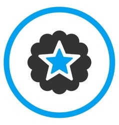 Premium star icon vector