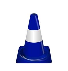 Road signs Blue Badge guardrails vector image