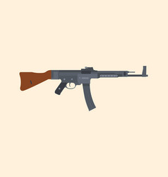 A german riffle machine gun popular in ww2 vector