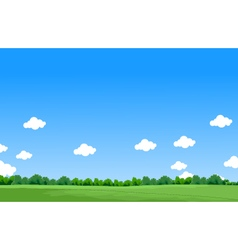 beauty landscape background vector image vector image