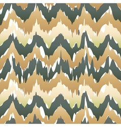 Seamless ikat pattern in beige abstract seamless vector