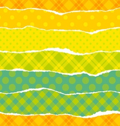 Torn wrapping paper vector