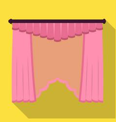 Cornice single icon in flat stylecornice vector