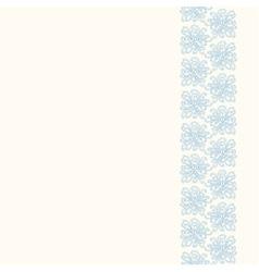 Seamless decorative border vector image vector image