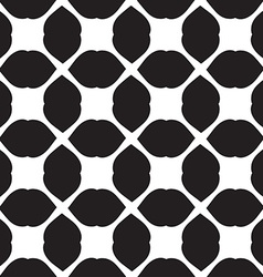 Universal black and white seamless pattern tiling vector image vector image