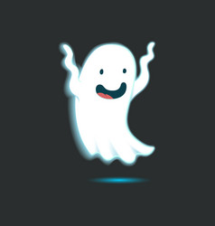 Cute Ghost Single 3 vector image