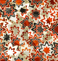 abstract vintage christmas seamless vector image