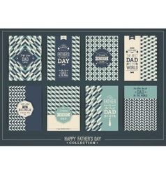 Happy Father s Day templates In Retro Style vector image vector image