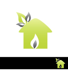 nature protection symbol vector image vector image