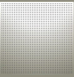 White pegboard background vector