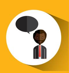 people talking design vector image