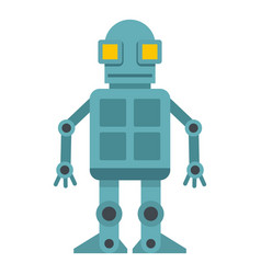 Android robot icon isolated vector