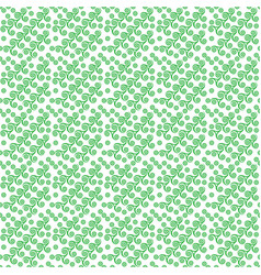 a green pattern with spiral stars and circles on vector image