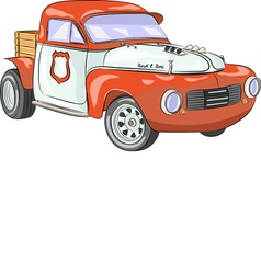 retro car c vector image
