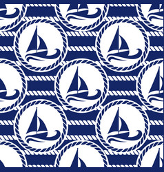 seamless pattern for sea vector image vector image