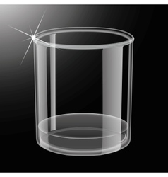Whiskey shot glass vector