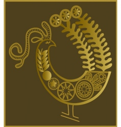lace bird vector image