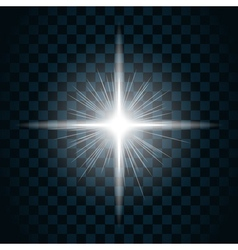 Sparkle light star 10 vector